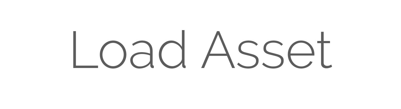 Load Asset