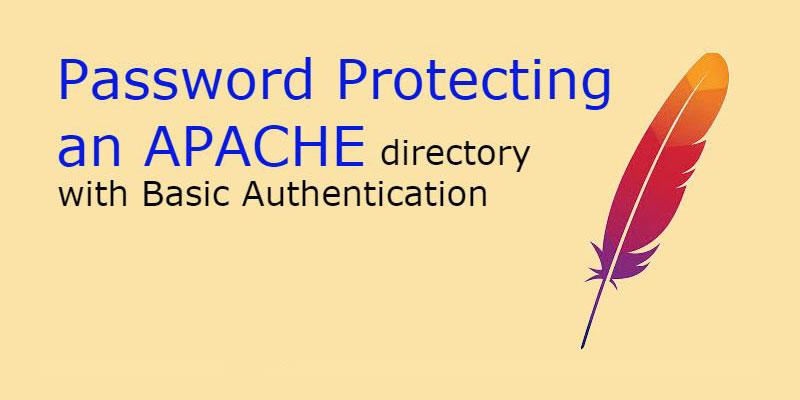 چگونه یکه کلمه عبور برای احراز هویت با APACHE تنظیم کنیم