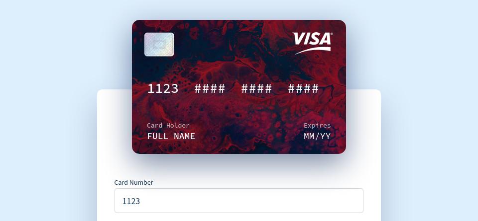 Vue Interactive Paycard