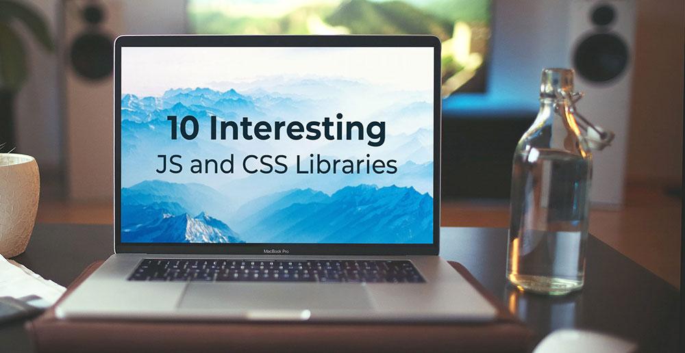 ۱۰ کتابخانه جالب JAVASCRIPT و CSS برای آبان ۱۳۹۸