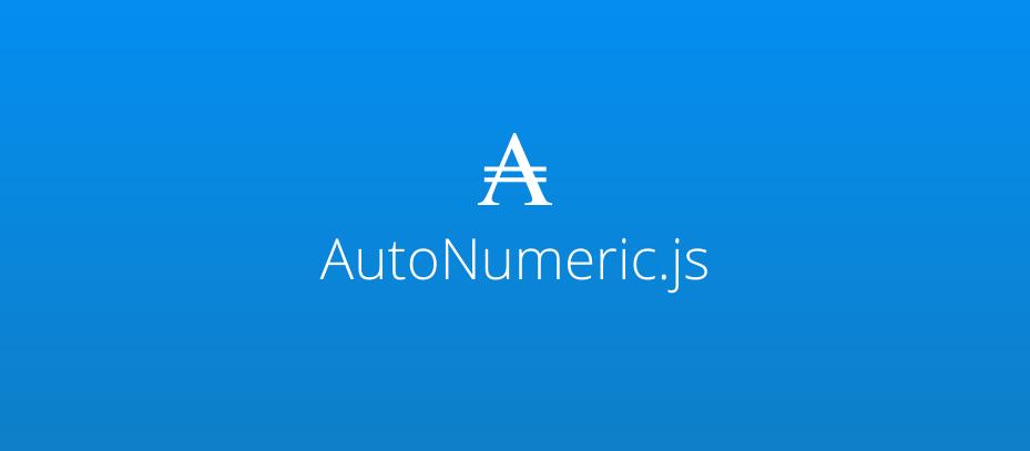 AutoNumeric