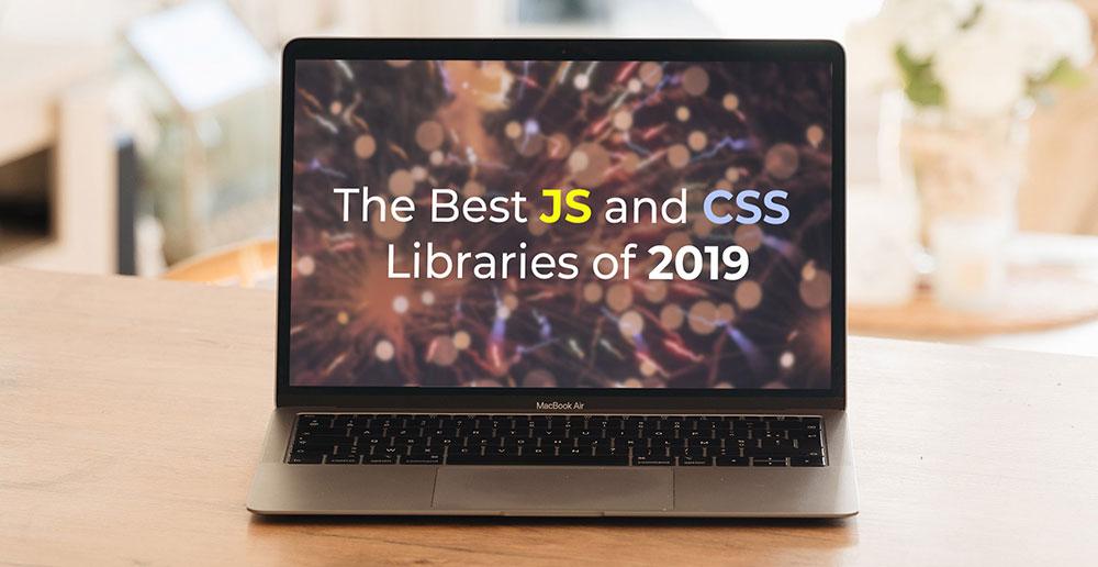 بهترین کتابخانه های JAVASCRIPT و CSS که در سال 2019 منتشر شدند