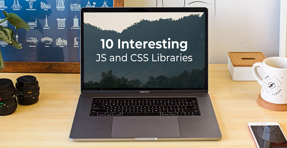 ۱۰ کتابخانه جالب JAVASCRIPT و CSS برای دی ۱۳۹۸