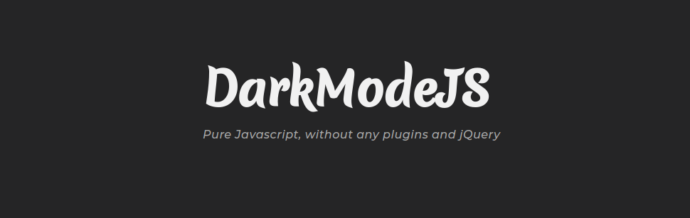 DarkModeJS